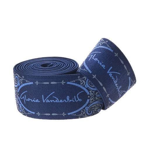 Yusen-Blue Polyester Tape Silk Screen Blue Fine Text Pattern