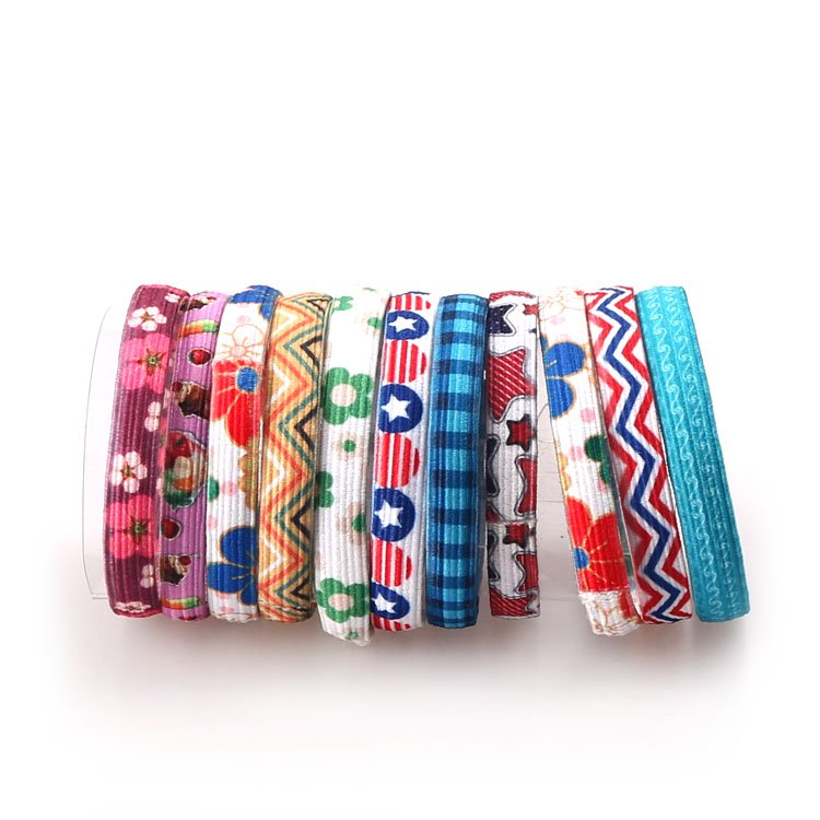 Yusen - Elastic Hair Band with Custom Design